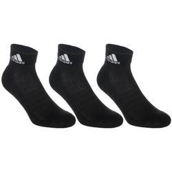 Halfhoge sokken Adidas zwart 3 paar