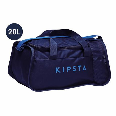 028ec39604 Sac de sports collectifs Kipocket 20 litres bleu noir bleu indigo vif |  Kipsta by Decathlon