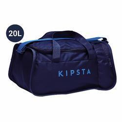 Voetbaltas / Sporttas Kipocket 20 liter blauw/zwart/indigo