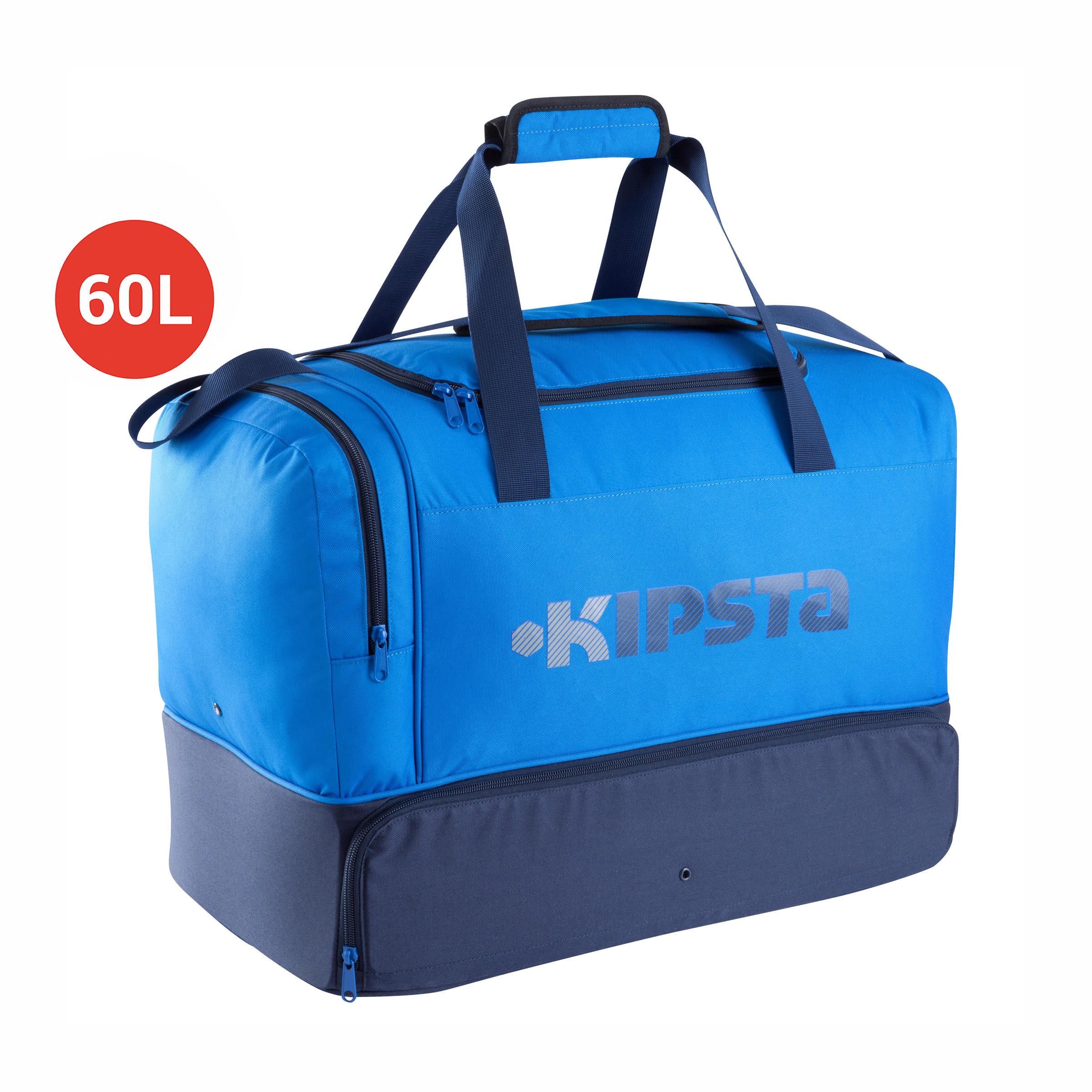 Sac de sport collectifs rigide 60 litres bleu