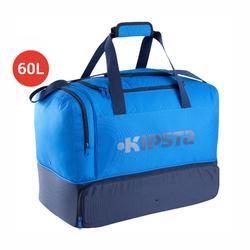Voetbaltas Hardcase 60 liter blauw