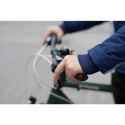 Fahrrad-Regenjacke 900 Herren marineblau