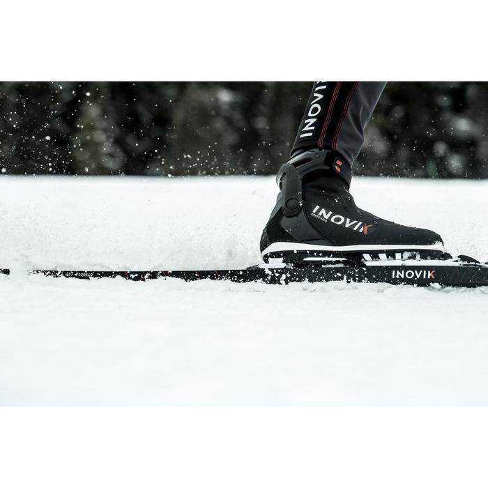 Esquí de fondo skating adulto 500 + fijación Rottefela