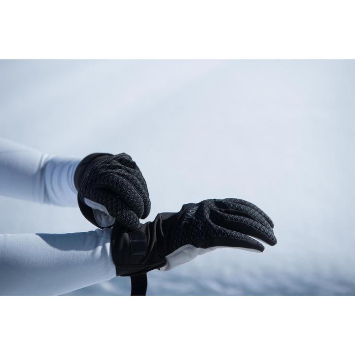 Gant de ski de fond léger adulte XC S GLOVE 500 noir