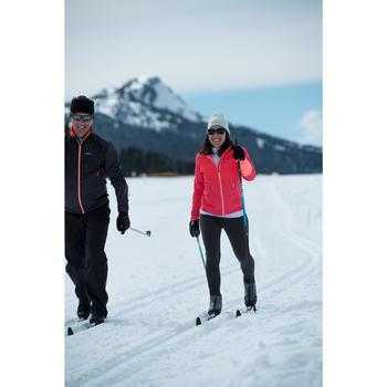 Mallas largas de esquí de fondo mujer XC S TIGHT 100 negro