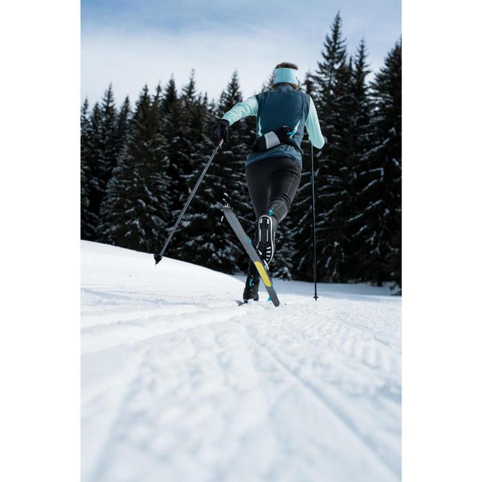 Klassieke langlaufski's met vellen volwassenen XC S 500 SKIN ROTTEFELLA-BINDING