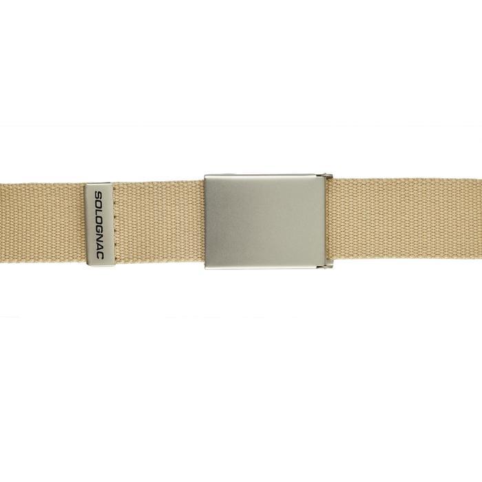 Cinturon Caza Solognac Sg100 Ajustable Beige