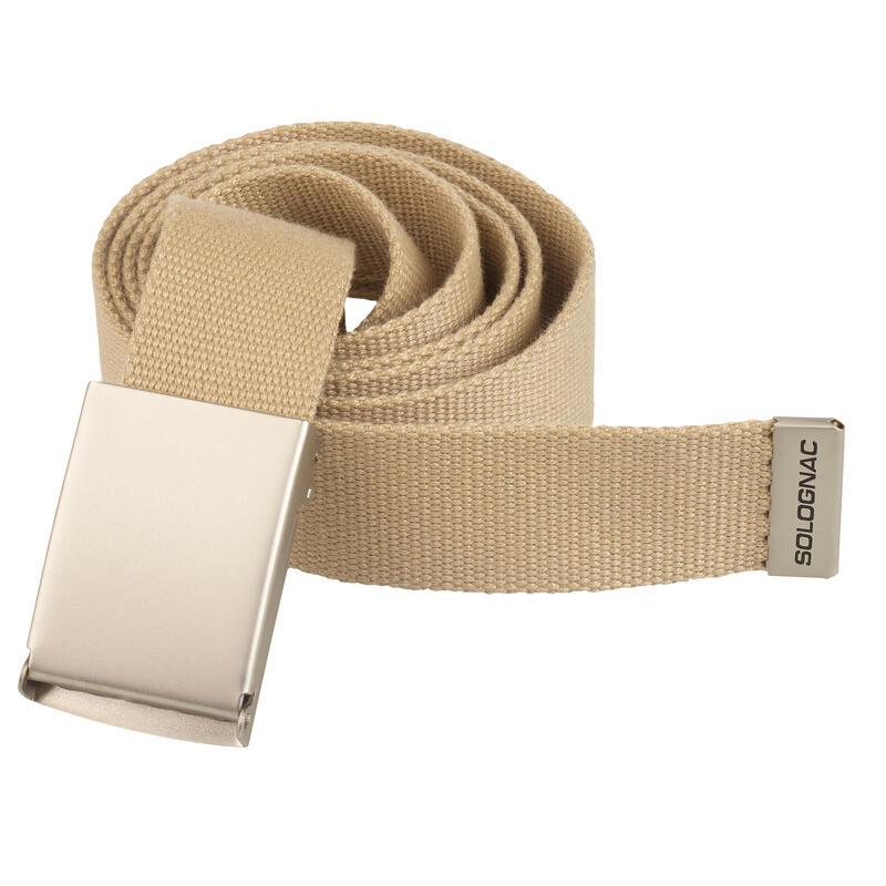 Cinturon Caza Solognac 100 Adulto Ajustable Beige