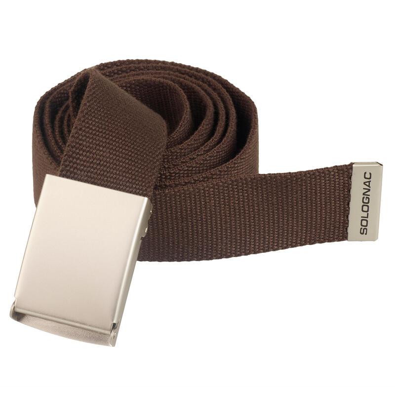 Cinturon Caza Solognac 100 Adulto Ajustable Marron