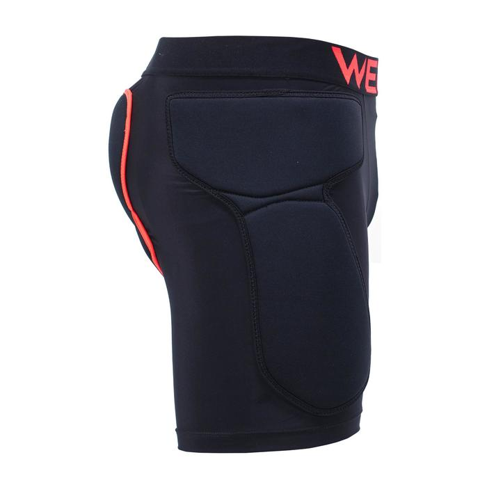 DSH 100 Adult Ski and Snowboard Protective Shorts - Black