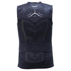 Adult Snowboard and Ski Protective Gilet Defense Jacket - Black