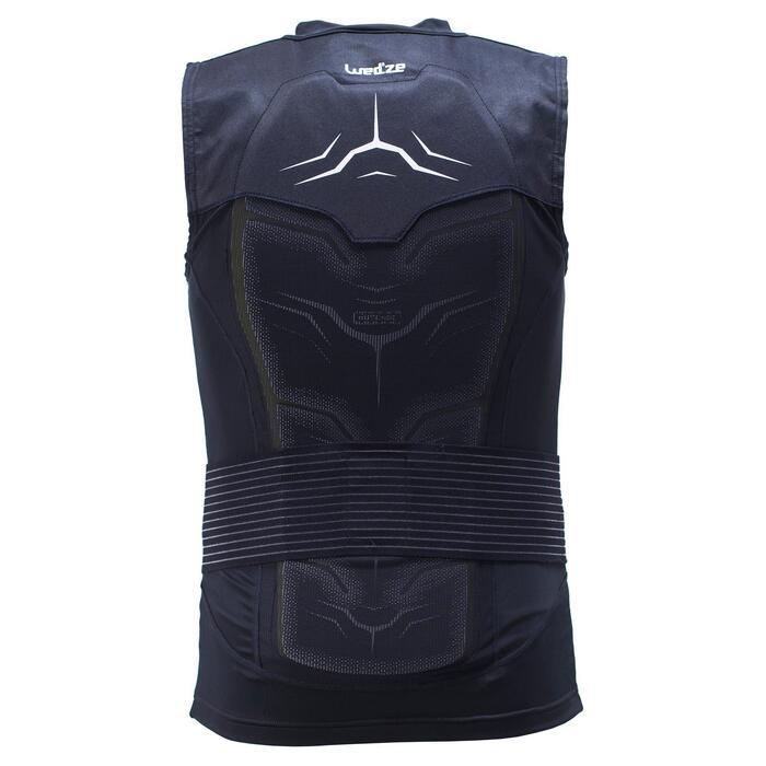 Gilet de protection de ski et snowboard adulte Defense jacket noir