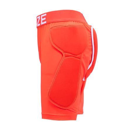 Junior Mixed Ski and Snowboard Protection Shorts DSH 100 - orange