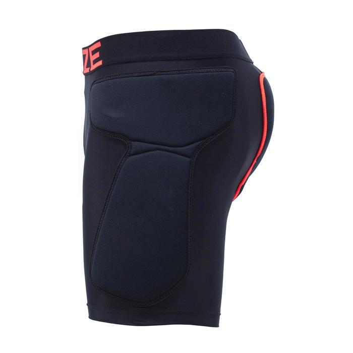 成人單/雙板滑雪保護短褲DSH 100 - 黑色
