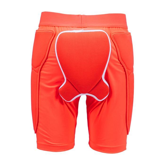 Junior skiing and snowboarding protection shorts DSH 100 - orange
