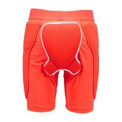 Short protection de ski et snowboard junior DSH 100 Mixte orange