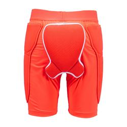 Short protection de snowboard (et de ski) junior DSH 100 orange