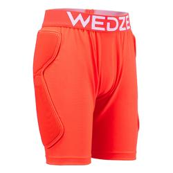 Short protection de snowboard et de ski junior DSH 100 orange