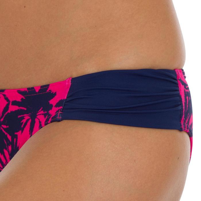 Bas de maillot de bain de surf femme plissée côté NIKI - 1522716