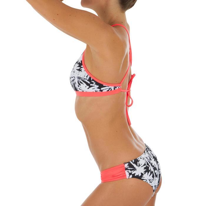 Bas de maillot de bain de surf femme plissée côté NIKI - 1522721