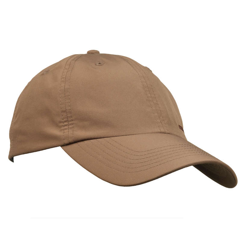 CAPS/HATS Shooting and Hunting - LIGHT CAP BROWN SOLOGNAC - Hunting and Shooting Clothing