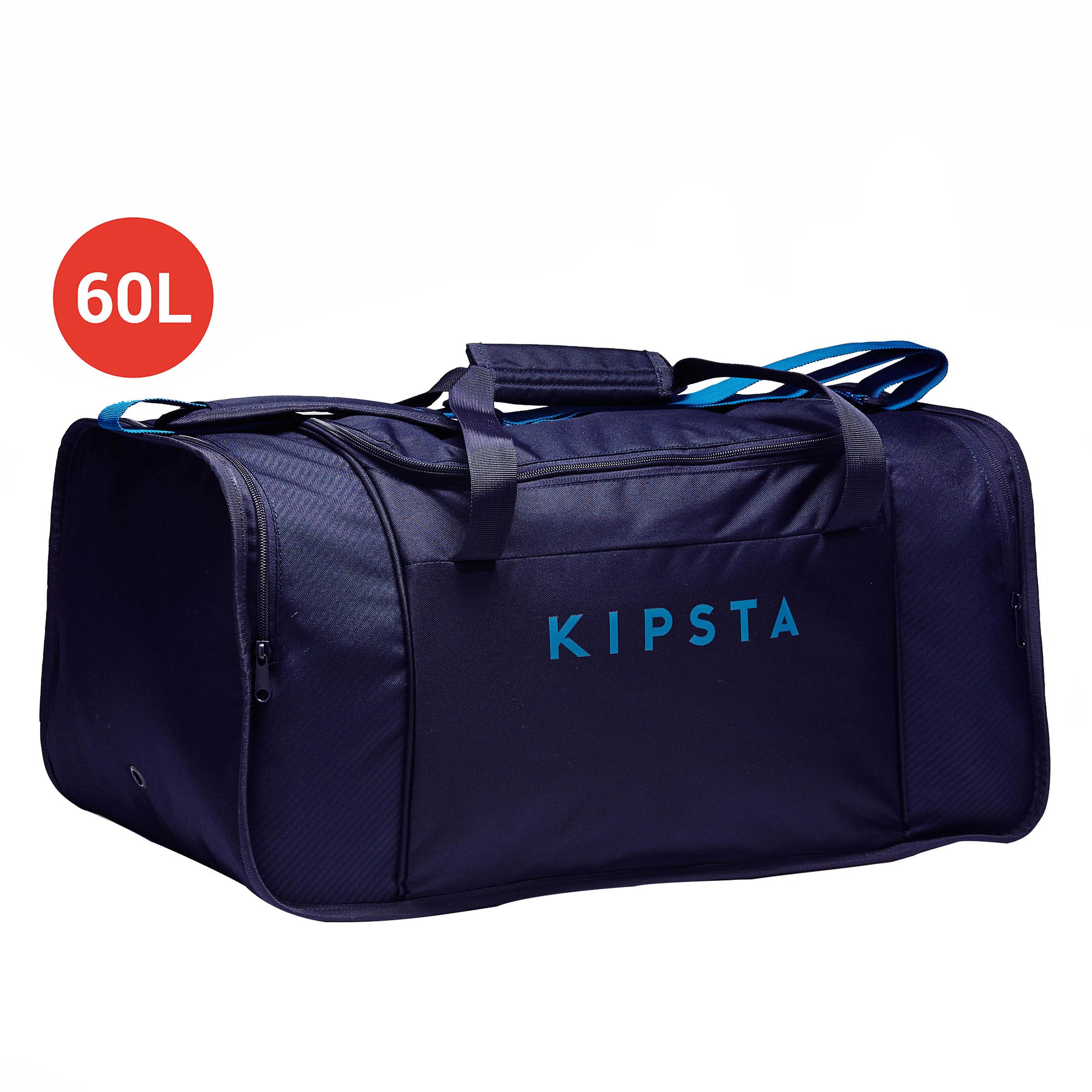 Kipsta Voetbaltas-Sporttas Kipocket 60 liter blauw