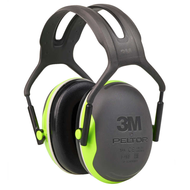 HEARING PROTECTION/GLASSES Shooting and Hunting - Peltor Ear Defenders X4A PELTOR - Clay Pigeon Shooting