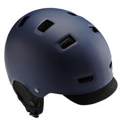 Fahrradhelm City 500 Bowl blau