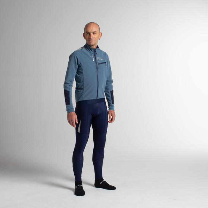 CUISSARD LONG VELO ROUTE HIVER HOMME CYCLOSPORT 500