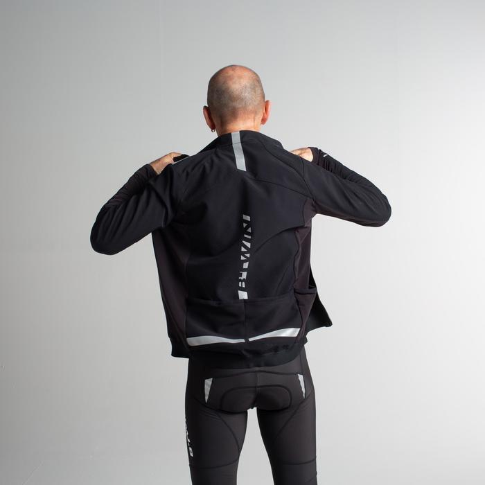 Wielrenjack RR500 voor heren zwart