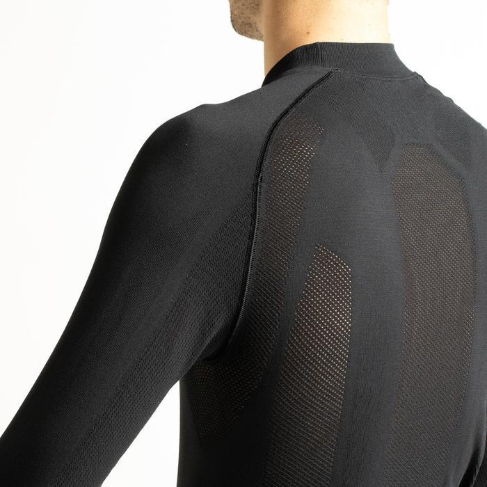 Fietsondershirt met lange mouwen voor heren 900 zwart