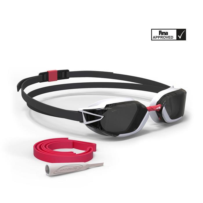 Zwembril 900 B-FAST zwart/rood donkere glazen