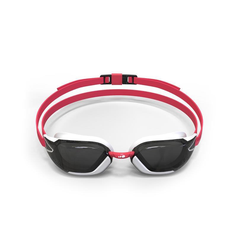 900 B-FAST Swimming Goggles - Black Red, Smoke Lenses