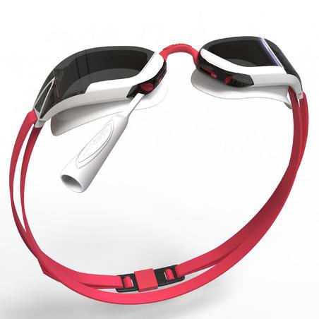 Kacamata Renang B-Fast 900 - Hitam Merah, Lensa Asap