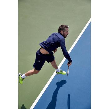 Tennisshorts warm 500 Herren marineblau