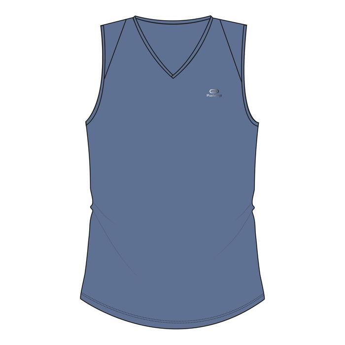 Joggingtopje voor dames Run Dry blauw