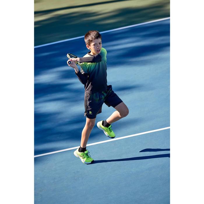Tennisschuhe TS990 Multicourt Kinder neongelb