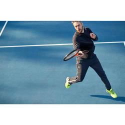 CHAQUETA sudardera tenis SOFT 500 HOMBRE NEGRO