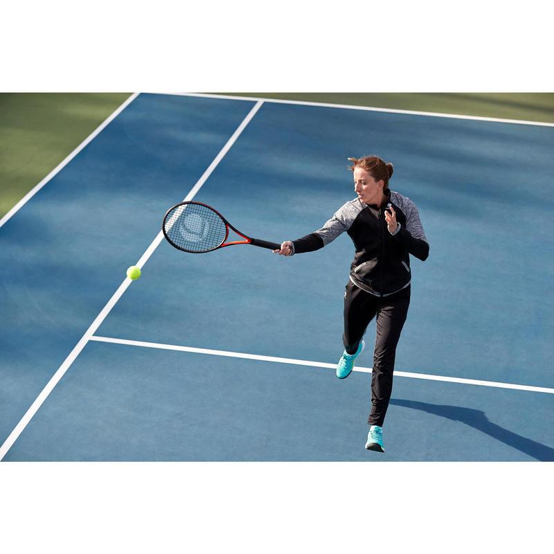 8a6aaf292ff5 Giacca tennis donna WARM 500 nera | artengo