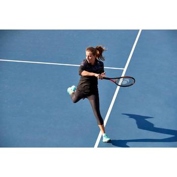 Thermoshirt 3/4 dames 900 Chalk zwart tennis