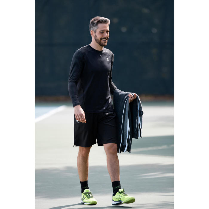Tennishose Ziplayer Herren dunkelgrau