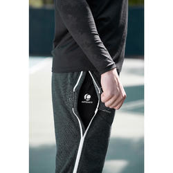 Ziplayer Zipped Bottoms - Dark Grey/White Zip
