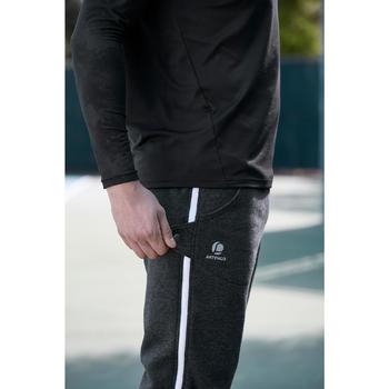 Ziplayer Zipped Bottoms - Dark Grey/White Zip