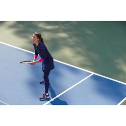 Rokje Thermic dames 500 marineblauw tennis
