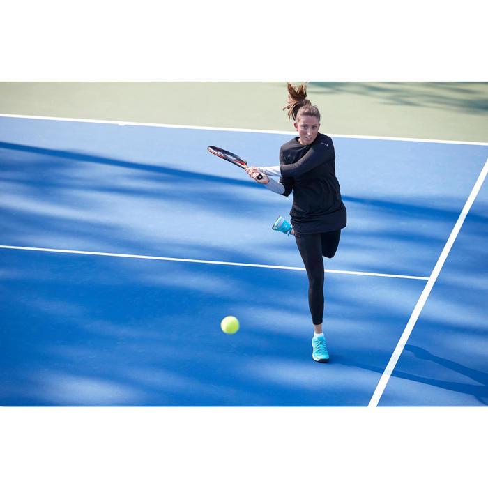 女性球拍運動T恤基礎快乾系列-灰色