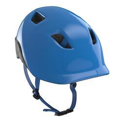Casco ciclismo bambino 500 azzurro