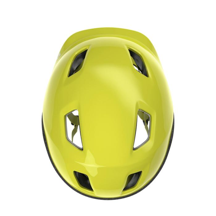 Casco para bicicleta infantil 500 Fluorescente
