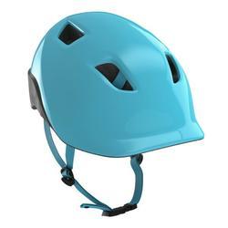 兒童自行車安全帽 - 藍綠色
