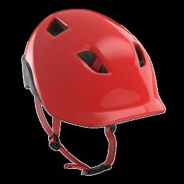 安全帽-紅-自行車-兒童