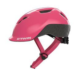 兒童自行車安全帽500 - 粉色